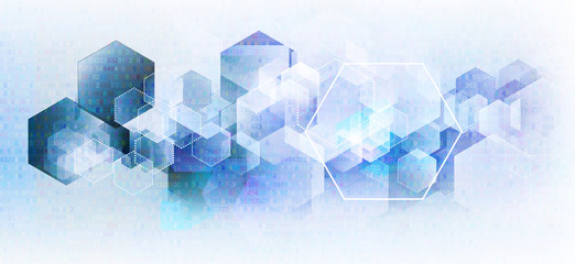 abstrakt geometrisch technologie konzept Fotoväggar