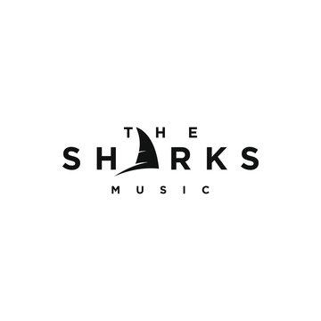Sharks logo design