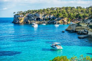 In der Drei-Finger-Bucht oder Cala de Portals Vells auf Mallorca
