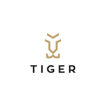 simple tiger logo design