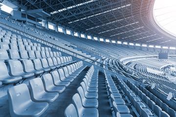 Modern Football Stadium Stan Fotobehang