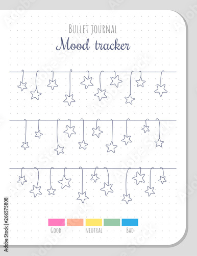 picture about Mood Tracker Bullet Journal Printable known as Temper tracker with honeycombs and bees for 31 times of a thirty day period