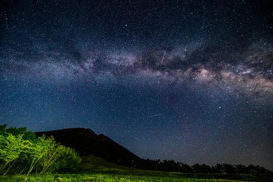 鳥取県 大山の星空