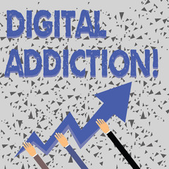 3a80a8822dca0 Word writing text Digital Addiction. Business photo showcasing disorder  that involves the obsessive use of