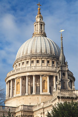 Dome of Saint Paul's Cathedral in London