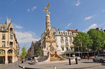 Reims la Fontaine Subé - Francia Fotomurales