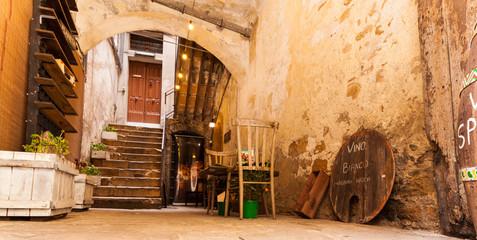 Rural wine bar in Piazza Armerina