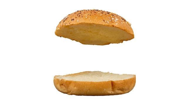 pains pour hamburger sans garniture