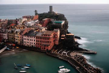 afternoon in Vernazza Italy