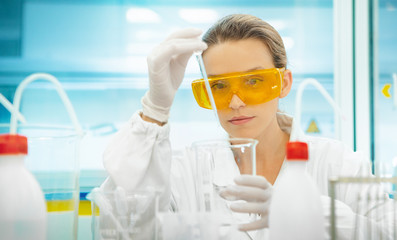 Young scientist or doctor