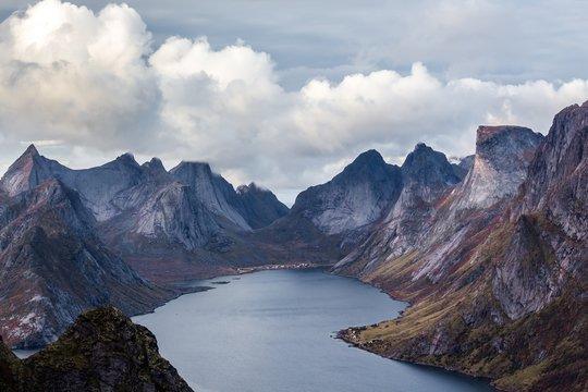 Beautiful shot of mountains