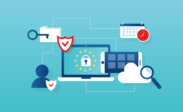 Vector concept for general data protection regulation