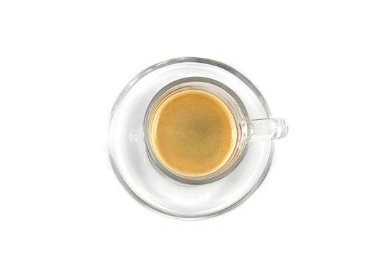 Espressotasse von oben