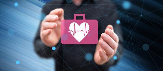 Concept of cardiac emergency