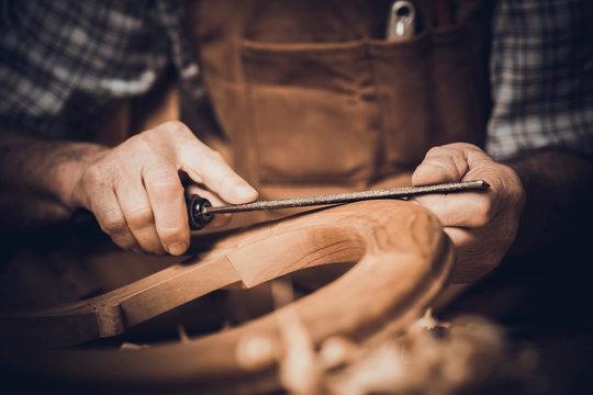 detail of carpenter