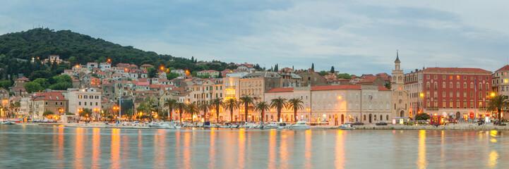 Fototapete - Panoramic View of Split, Croatia