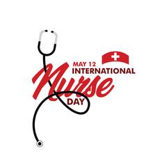 International Nurse Day Vector Template Design Illustration