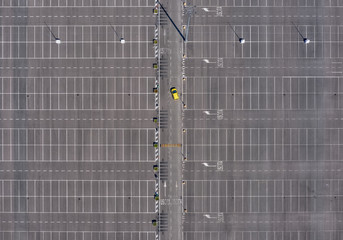 Aerial Parking lot 1