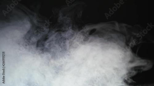 Smoke background  Abstract smoke cloud  Smoke in slow motion