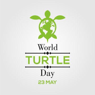World Turtle Day Design Illustration Template