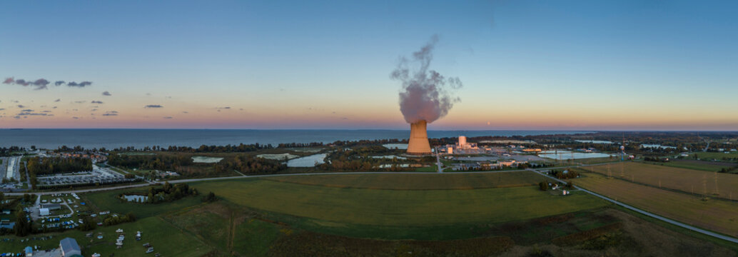 Marsh, Davis-Besse Nuclear Power Plant, Oak Harbor, Ohio