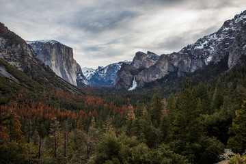 Tunnel View, The Most Famous Overlook in Yosemite National Park