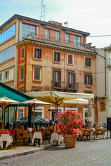 Papiers peints Europe du Nord street in old town of verona