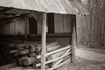 old woodcutters store.