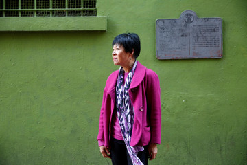 Sue Lee, former director of the Chinese Historical Society of America, poses for a photo in Chinatown in San Francisco