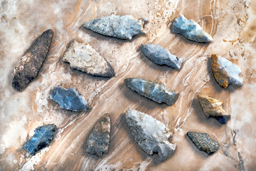 American Indian Arrowheads.
