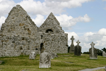 Ruins of St. Kieran's Cathedral