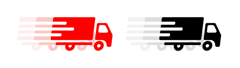 Picto camion de livraison