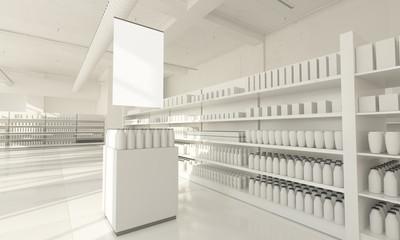 promotional zone supermarket