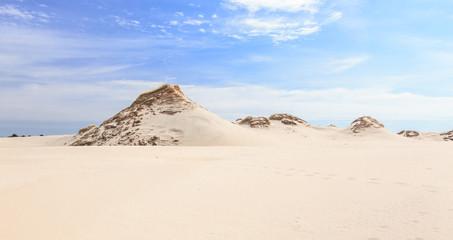 Lacka dune in the Slowinski National Park near Łeba, on the Polish coast of the Baltic Sea