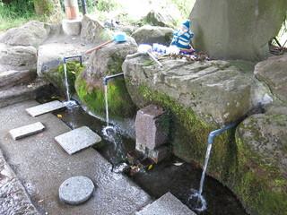 池山水源の水汲み場 Ikeyama Fountainhead