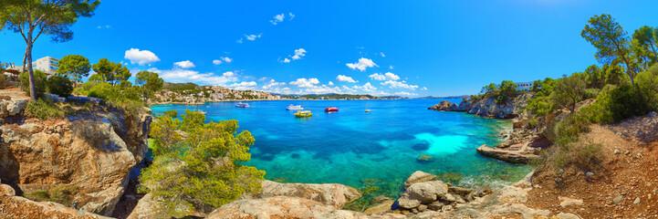 Cala Fornells Majorca Mallorca Spain panorama