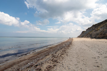 Cliff at the Baltic Sea - Stohl - Schleswig Holstein - Germany