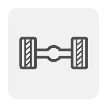 axle icon black