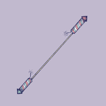 A Double-Sided Rocket