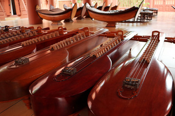 Thai Traditional Stringed Music Instrument