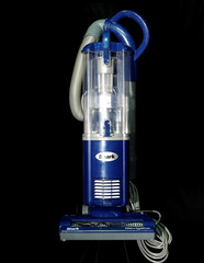 A Shark Navigator Light Upright Vacuum NV105 is seen in this photograph taken in New York