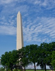 Washington Monument on a Clear Day
