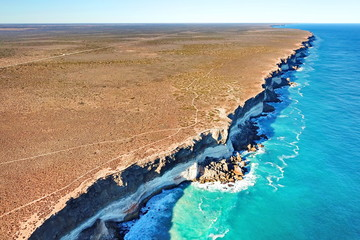 The Mighty Sea Cliffs of the Great Australian Bight Wall mural