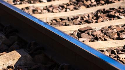 40d1c8a6 Teil einer Bahnschiene