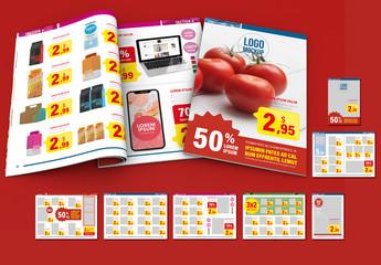 Supermarket Sales Catalog Layout