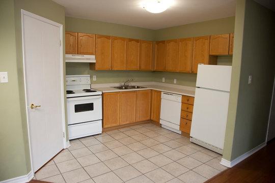 Kitchen in the corner