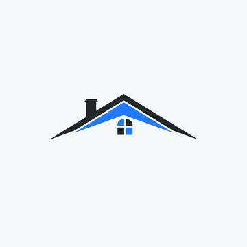 Real Estate house icon logo vector