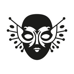 Pictogram of the Russian National Theater Award and the Golden Mask Festival.