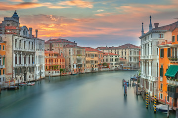 Obraz Architektura Wenecja, Krajobraz, Włochy, Europa - fototapety do salonu