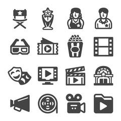 movie icon set